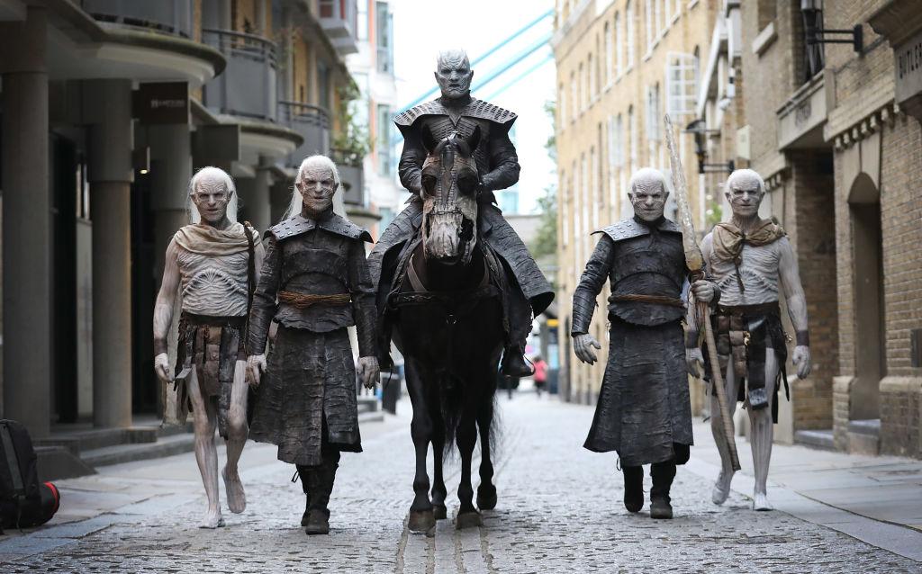Актеры Игры престолов в Лондоне