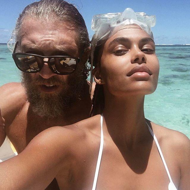 Венсан Кассель новое фото с девушкой
