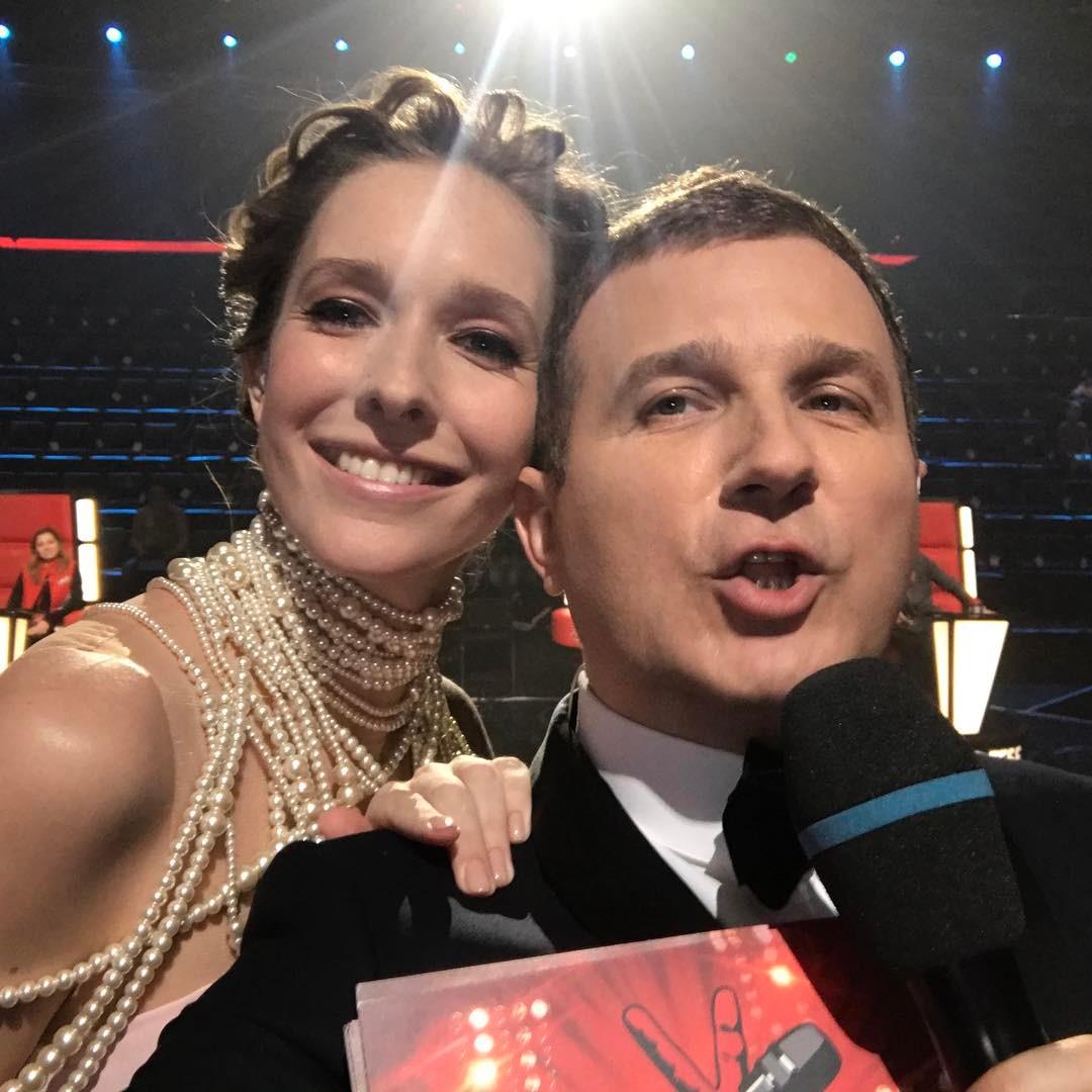Катя Осадчая и Юрий Горбунов оторвались на концерте Depeche Mode в Киеве