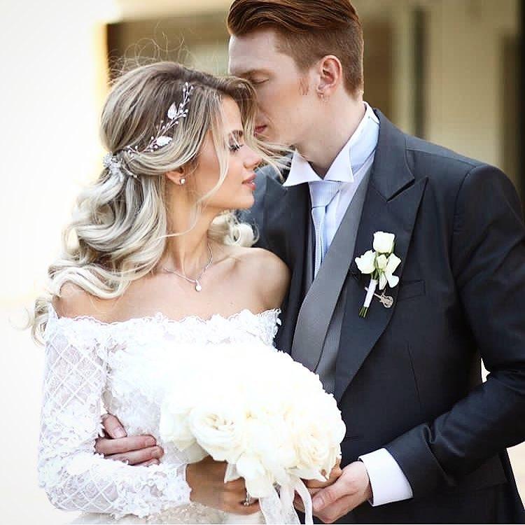 Внук Аллы Пугачевой Никита Пресняков женился на Алене Красновой: первые фото со свадьбы