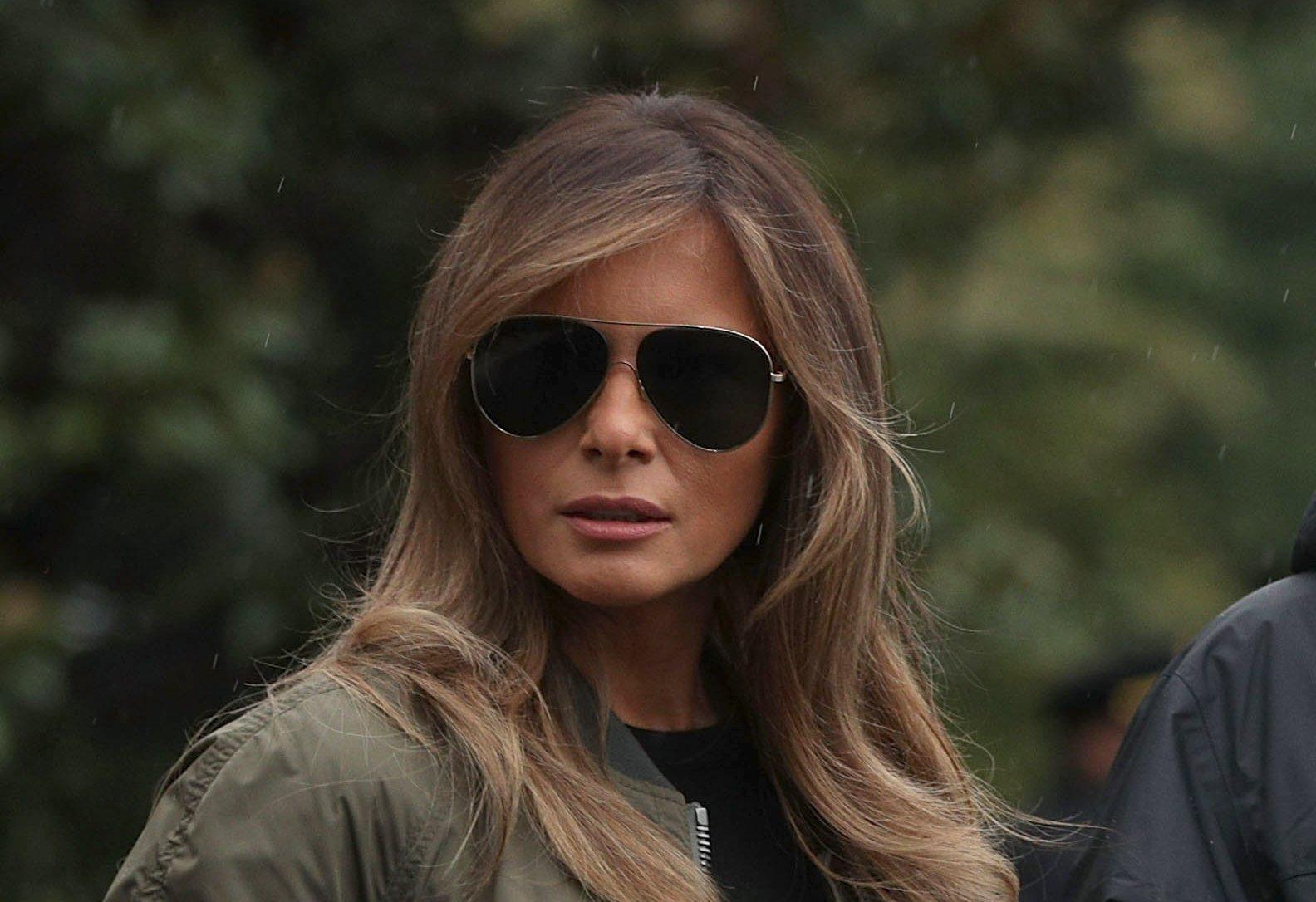 Забудем о платьях: в сети обсуждают новый стильный наряд Мелании Трамп
