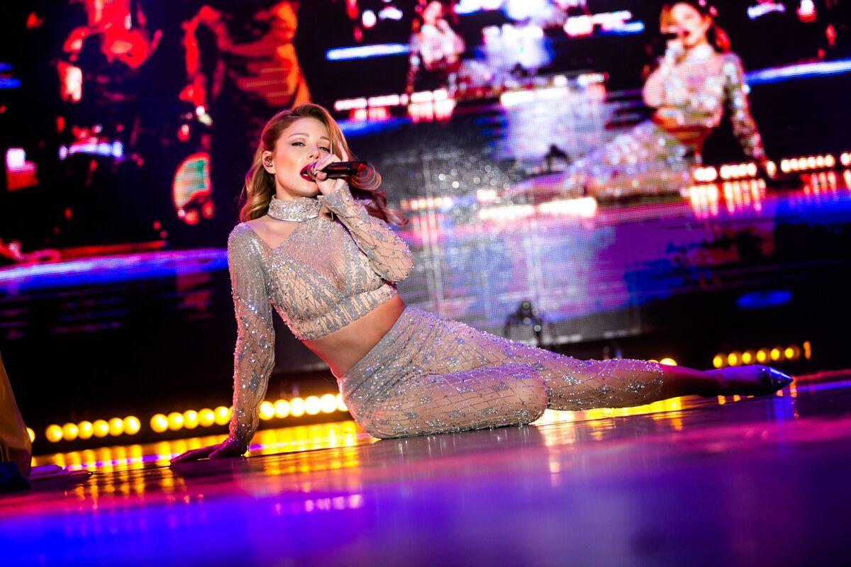 Тина Кароль в концертном туре Интонации