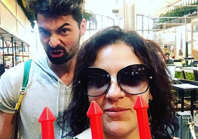 Наталья Холоденко и ее партнер по шоу «Танці з зірками» отдохнули вместе в Барселоне