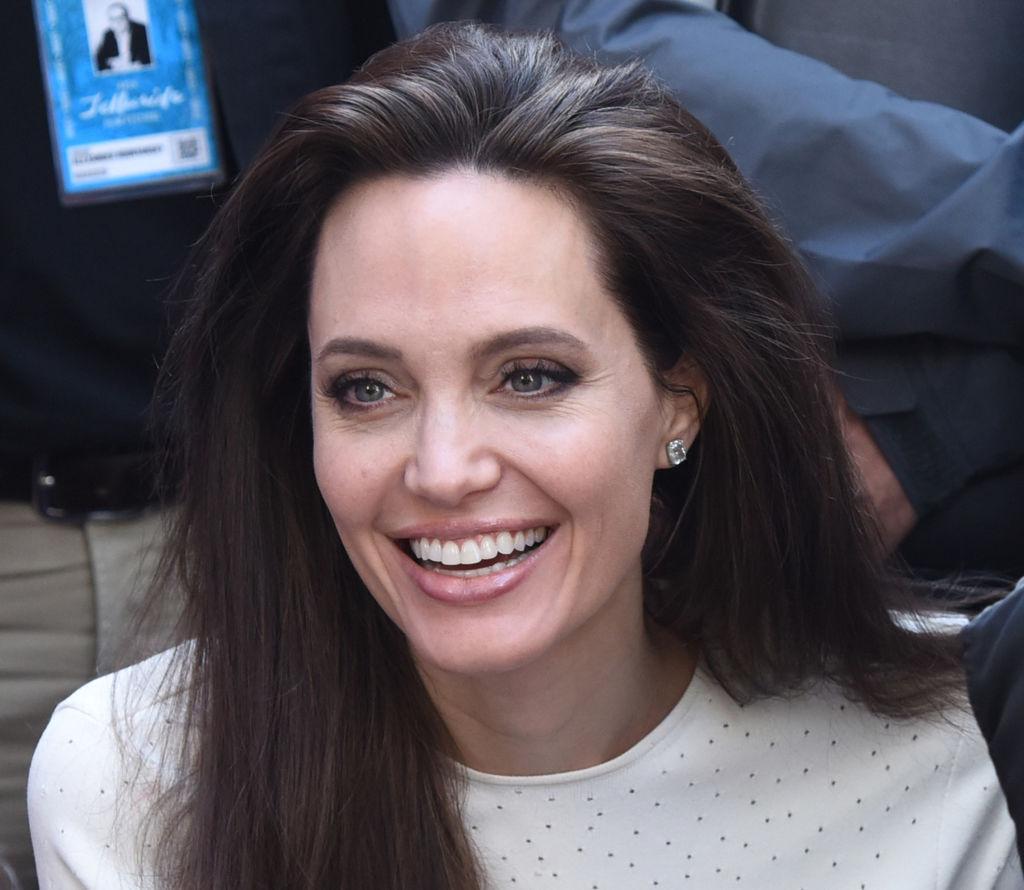 Редкий кадр: Анджелина Джоли