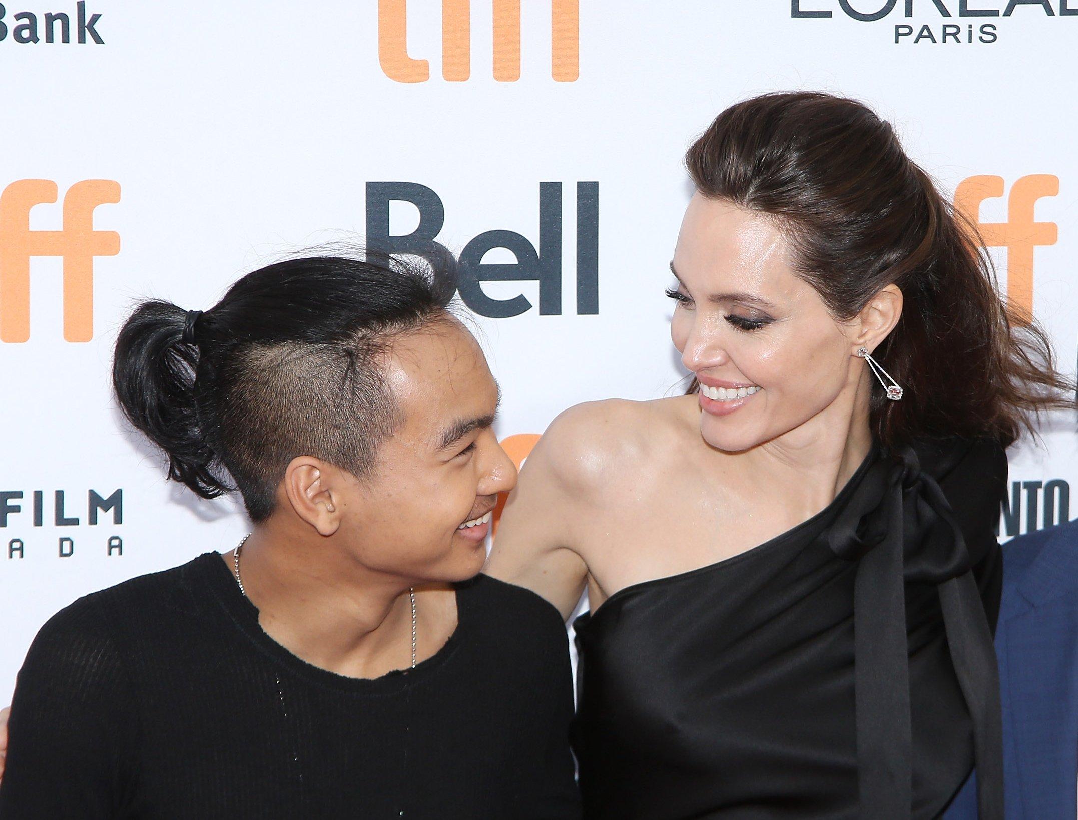 """Сын Анджелины Джоли рассказал о маме: """"Она - это чудо"""""""