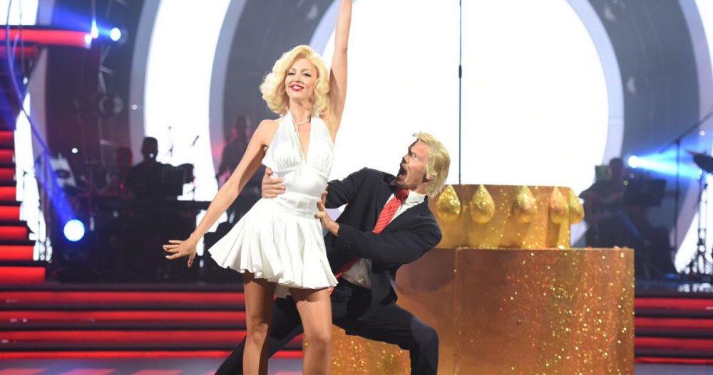 Оля Полякова на Танцах со звездами