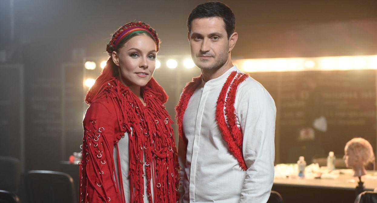 Алена Шоптенко и Ахтем Сеитаблаев