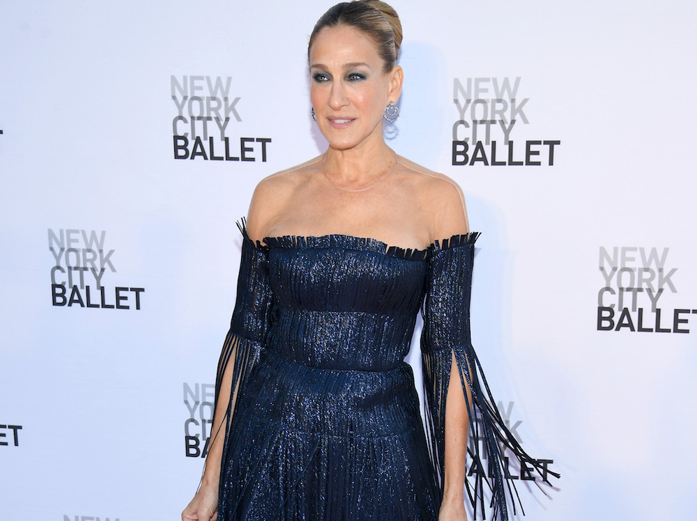 Ламбада-style: 52-летняя Сара Джессика Паркер удивила «рваным» платьем