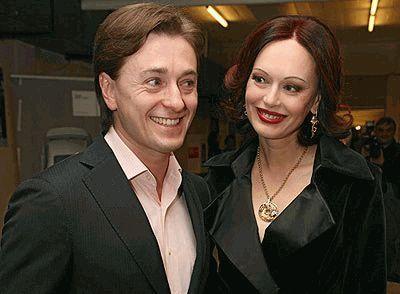 Сергей Безруков с женой Ириной Ливановой