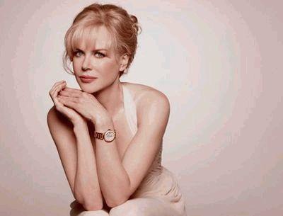 Николь Кидман в рекламе часов