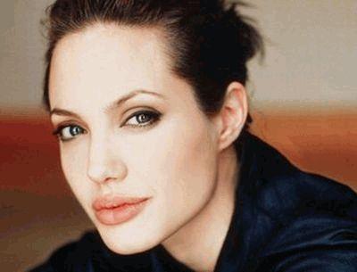 Анджелина Джоли макро
