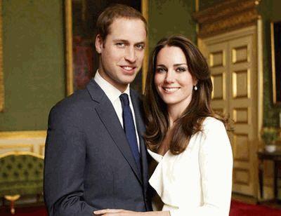 Принц Уильям и Кейт Миддлтон - официальное фото