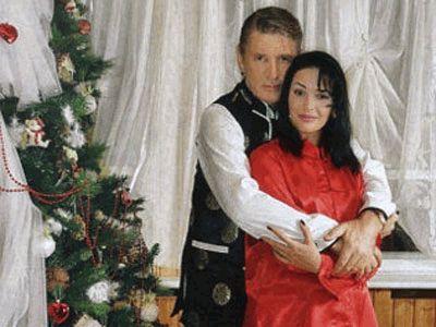 Александр Абдулов с женой Юлей