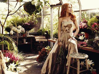 Николь Кидман в Harper`s Bazaar