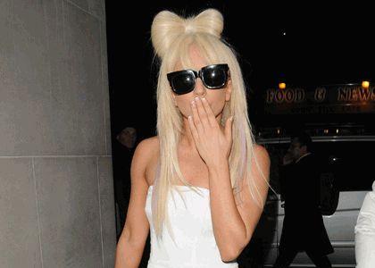 Леди Гага в очко
