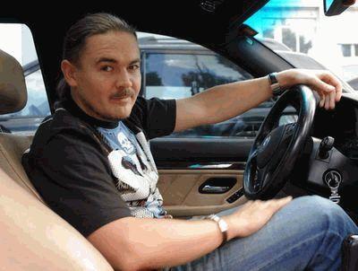 Олег Михайлюта за рулем