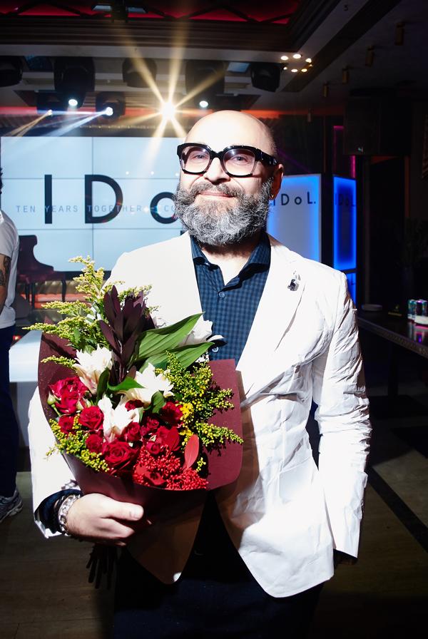 Серж Смолин с размахом отпраздновал 10-летие бренда мужской одежды IDoL