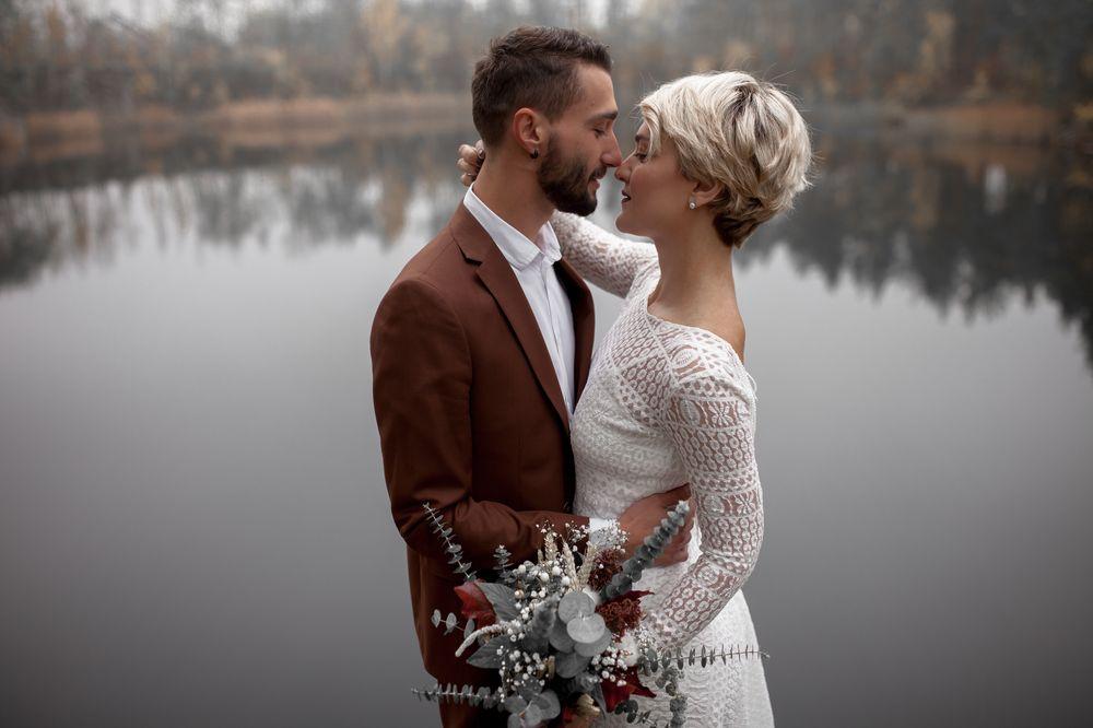 Вера Кекелия и Роман Дуда поженились