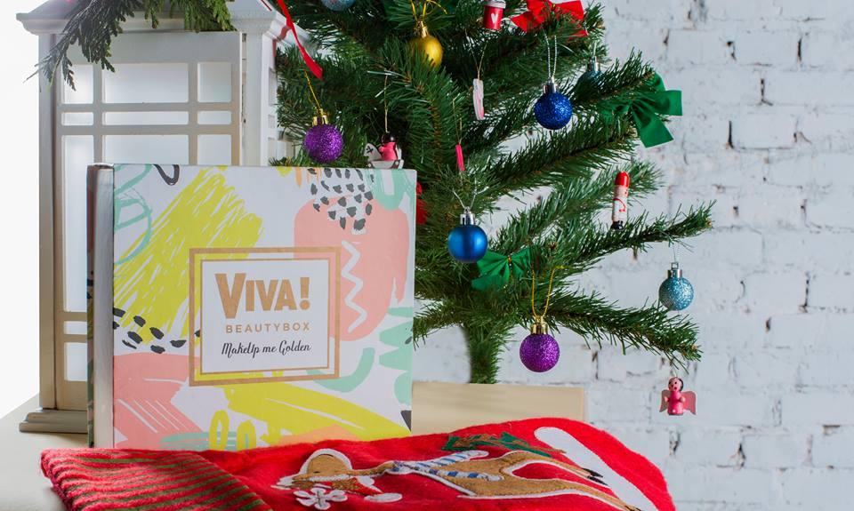 Новая коробочка VivaBeauty Box MakeUp me Golden - фантастический подарок к волшебному празднику в 2019 году