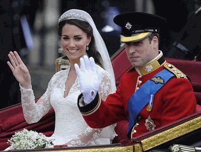 Принц Уильям и Кейт Миддлтон женаты