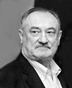 Богдан Ступка ч/б