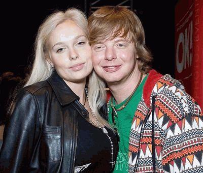 Андрей Григорьев-Апполонов с женой