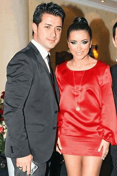 Ани Лорак со своим турецким чмужем