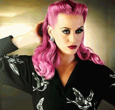 Кэти Перри розовая