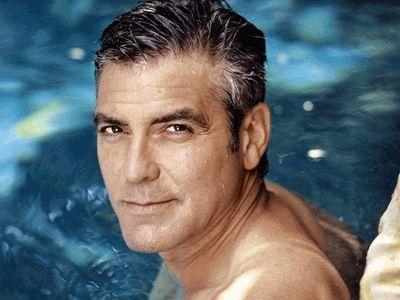 Джордж Клуни мокрый и жууутко сексуальный