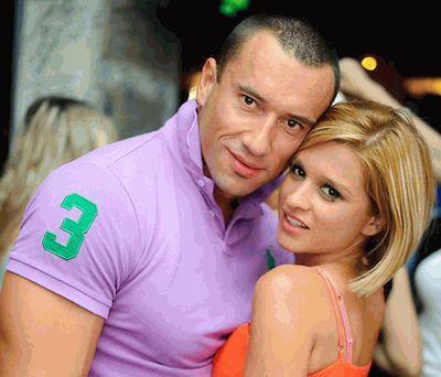 Ксения Бородина и Михаил Терехин