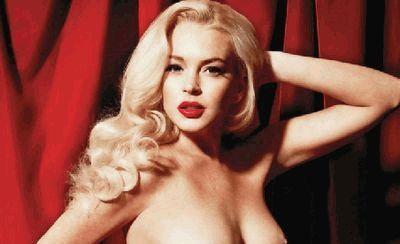 Линдсей Лохан и ее сиськи для Playboy