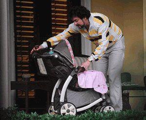 Филипп Киркоров с коляской