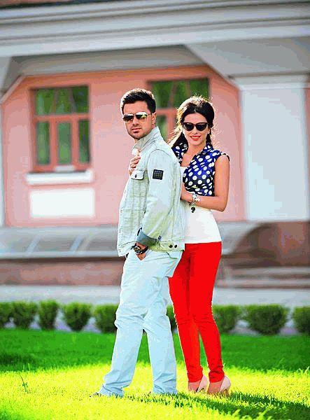 Ани Лорак с супругом