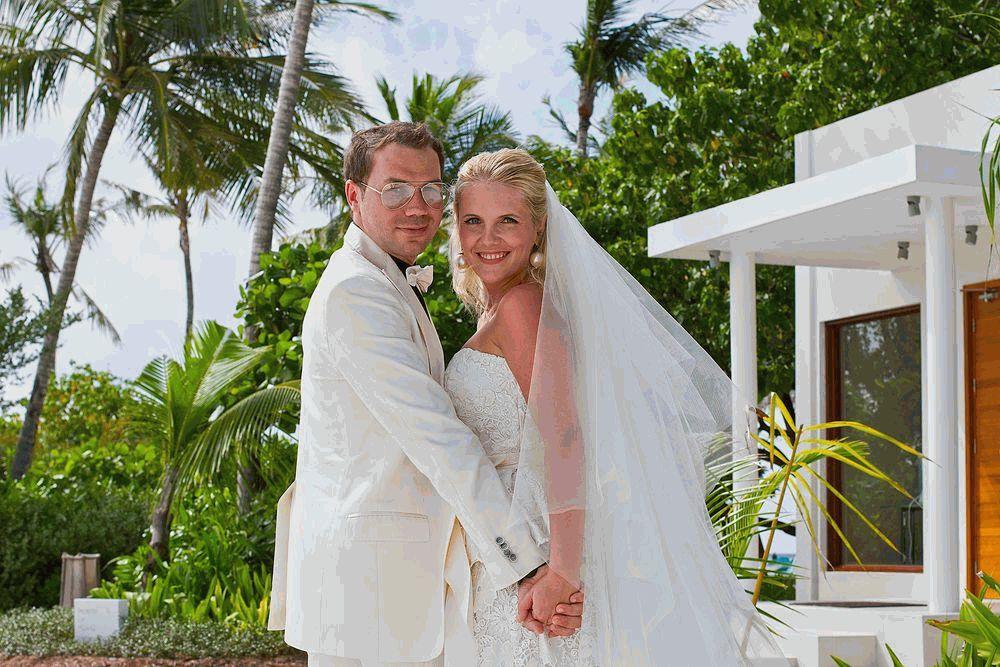 Андре Тан и его жена 1