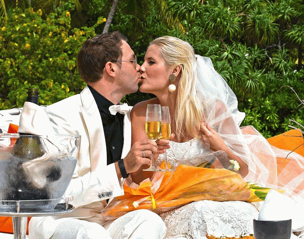 Андре Тан и его жена 2