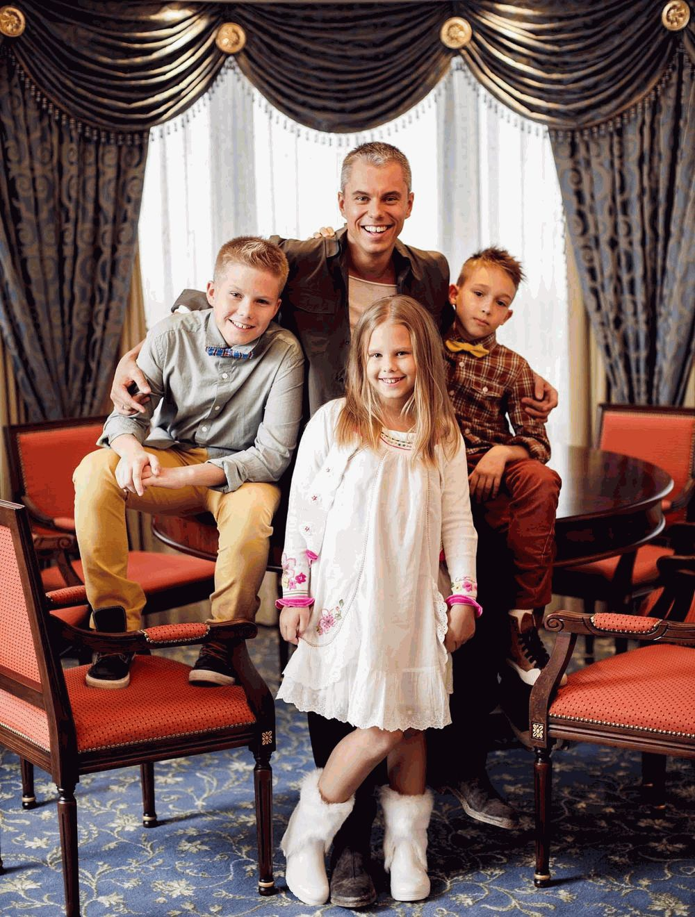 Андрей Доманский и его дети