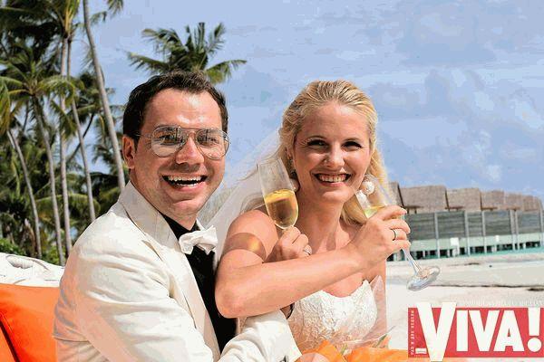 Андре Тан и его жена 3