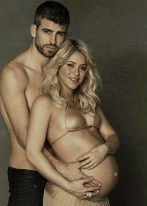 Шакира беременная