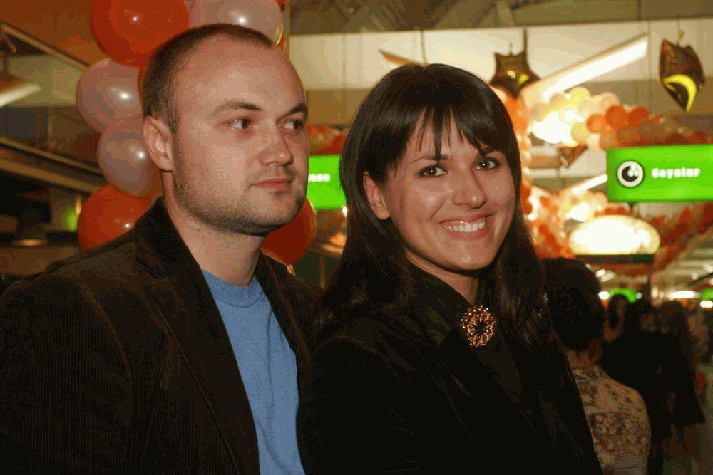 Маша Ефросинина с супругом Тимуром Хромаевым
