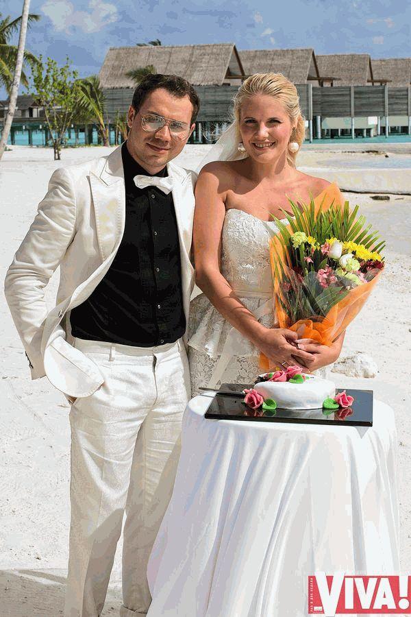 Андре Тан и жена