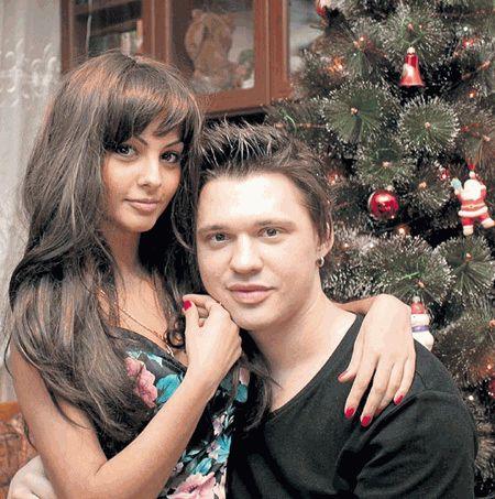 Алексей Кабанов с девушкой