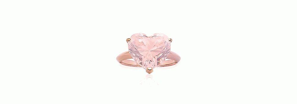 даймонд розовое кольцо версия 10