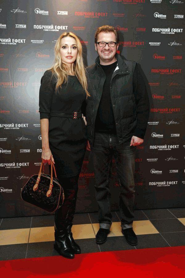 Александр Пономарев и Ольга Сумская