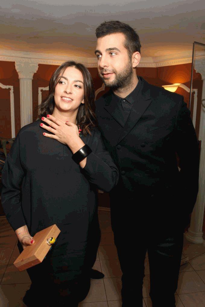 Иван Ургант с женой