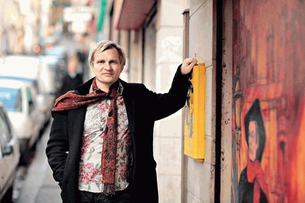 Олег Скрипка в Париже