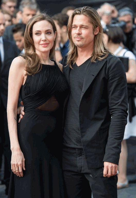 Анджелина Джоли и Брэд Питт после операции