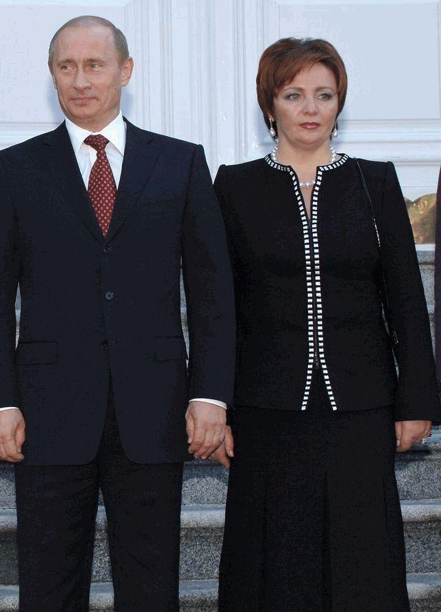 Владимир Путин и Людмила
