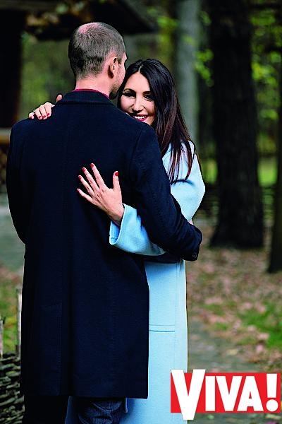 Денис Силантьев и его жена Инна Силантьев в фотосессии для Viva!