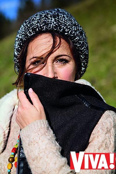 Даша Малахова  в фотосессии для Viva!
