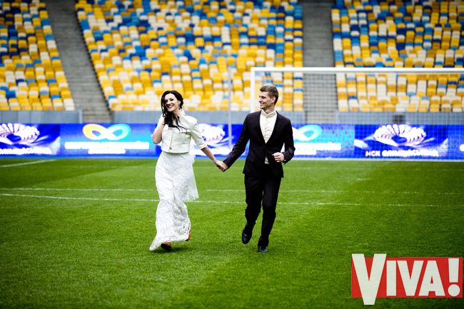 Соломия Витвицкаявышла замуж свадьба фото вива